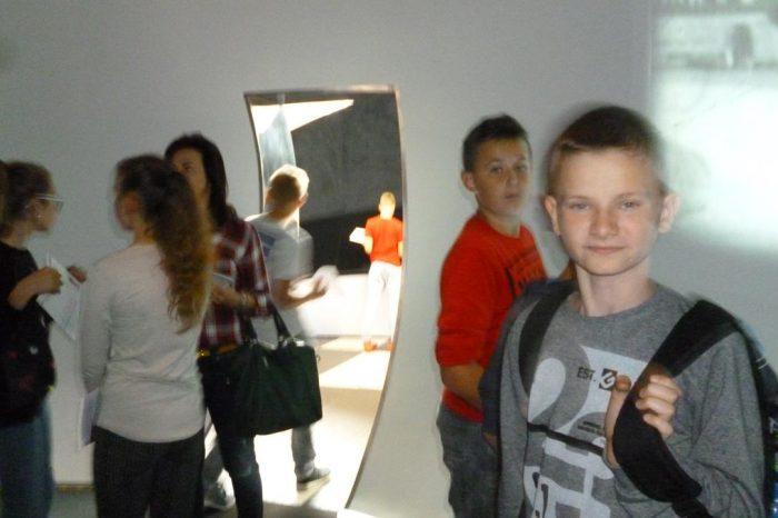 Lekcje edukacyjne klas VII w Muzeum Emigracji w Gdyni