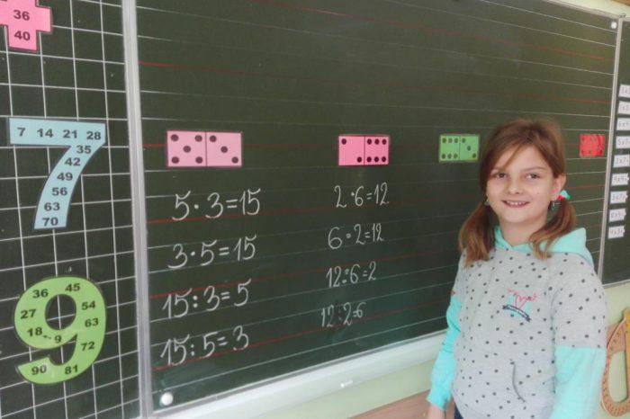 Światowy Dzień Tabliczki Mnożenia w klasach I-III
