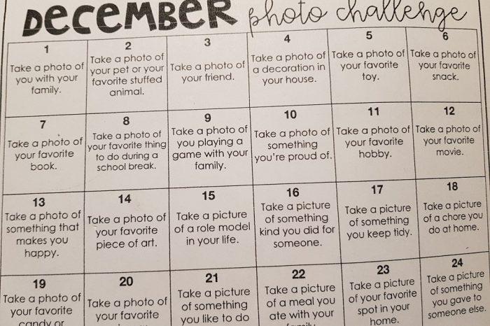 """December photo challenge"""
