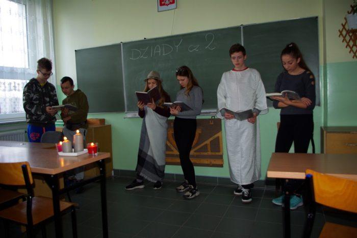 Nietypowa lekcja języka polskiego