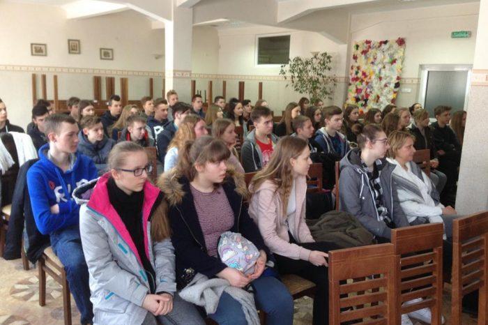 Wizyta gimnazjalistów w Centrum Edukacji Zawodowej