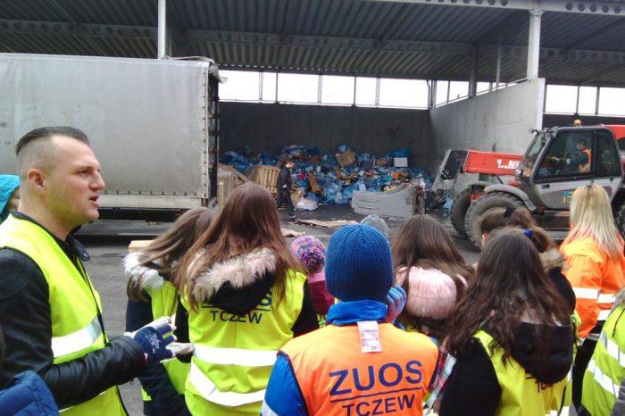 Wycieczka do Regionalnej Instalacji Przetwarzania Odpadów Komunalnych w Tczewie