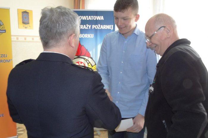 Eliminacje Ogólnopolskiego Turnieju Wiedzy Pożarniczej w Malborku