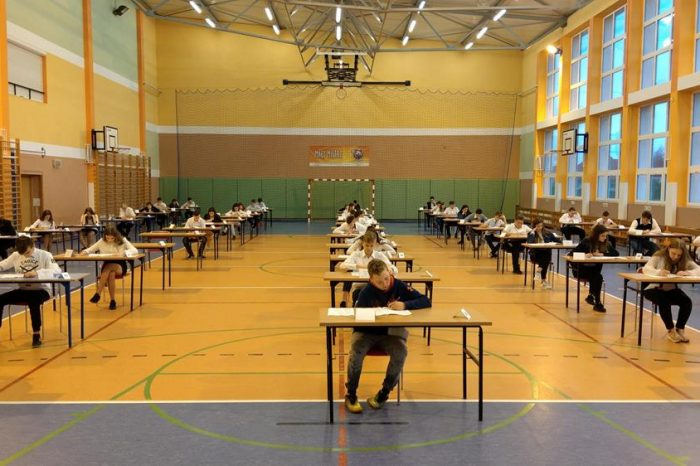 Próbny egzamin klas VIII i III gimnazjum