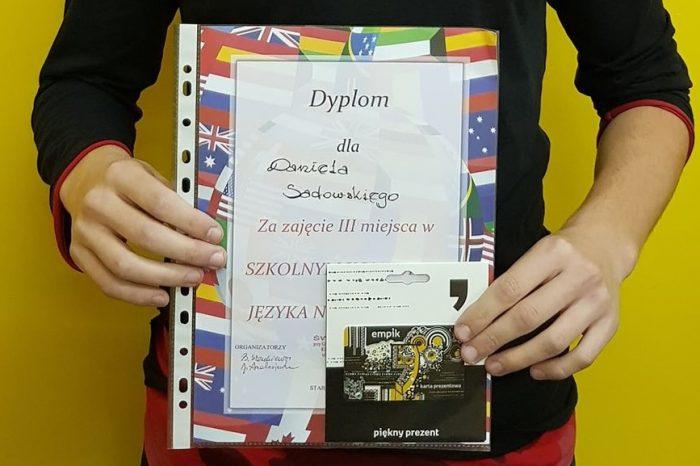 Szkolny Konkurs Języka Niemieckiego i Angielskiego