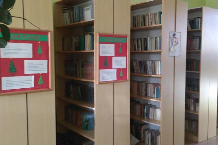Grudzień w bibliotece szkolnej…