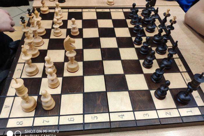 Turniej szachowy w świetlicy