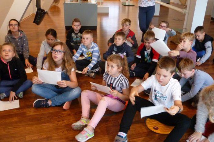 Lekcje historii kl. IV a w Muzeum Wisły