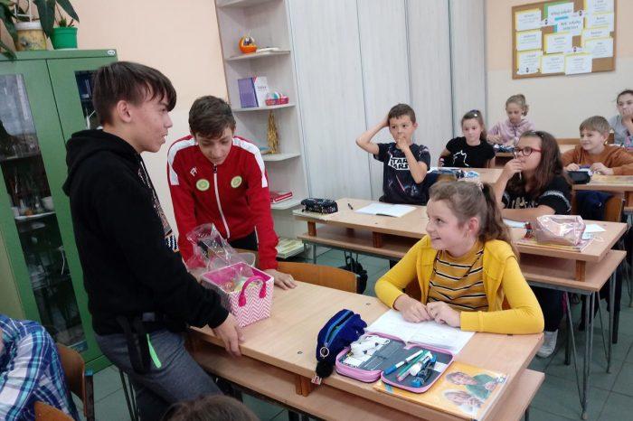 Światowy Dzień Tabliczki Mnożenia w Szkole Podstawowej w Starym Polu
