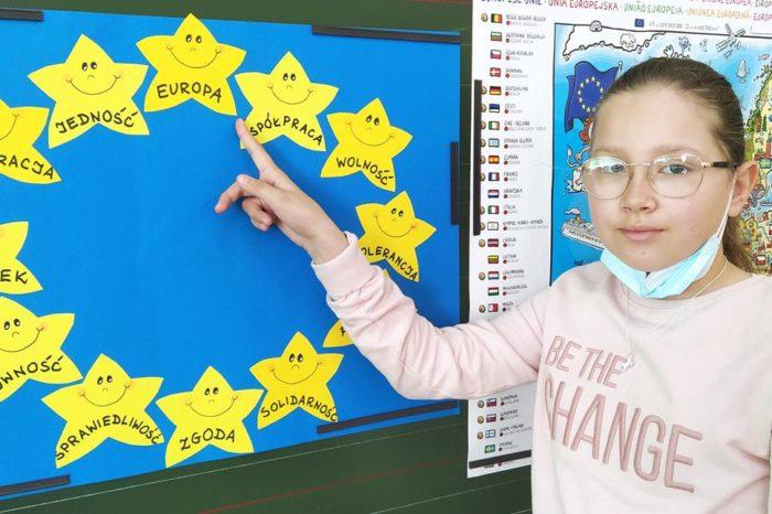 Dzień Europy w klasach 0-III