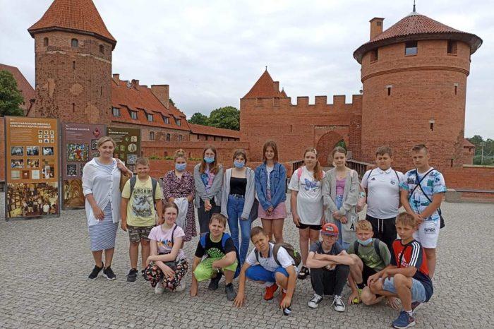 Lekcja muzealna w zamku krzyżackim